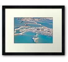 Postcard from Pamukkale Framed Print