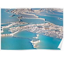 Postcard from Pamukkale Poster