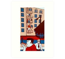 Kearny & Bush Art Print