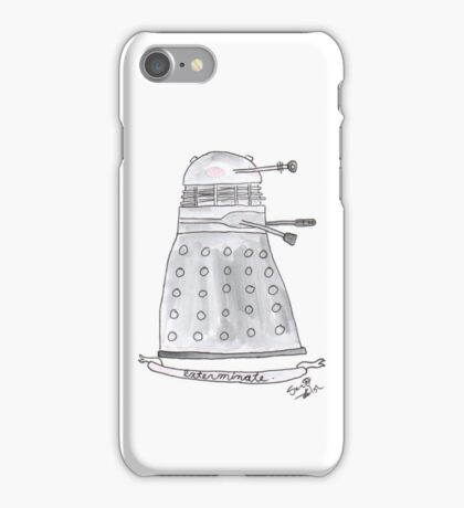 Doctor Who - Exterminate. iPhone Case/Skin