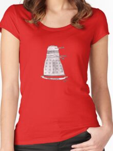 Doctor Who - Exterminate. Women's Fitted Scoop T-Shirt