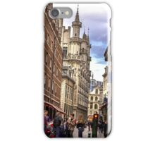 Streets Arround Grand Place Rue De L-ETUVE iPhone Case/Skin