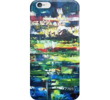 Lights at ease beneath the sky iPhone Case/Skin