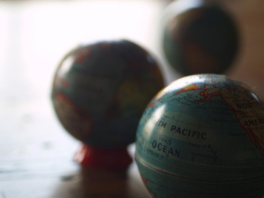 see the world by Tony Kearney