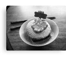 Octopus Dessert. Canvas Print