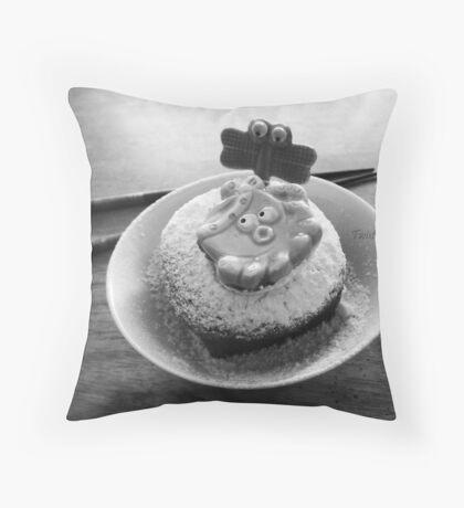 Octopus Dessert. Throw Pillow