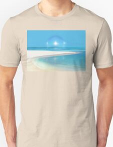 Postcard from Crane Bay in Barbados, Caribbean Unisex T-Shirt