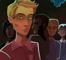 Corvid Youths by mostlyhazel