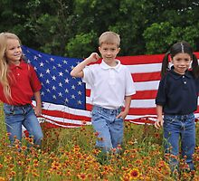 Patriotic Kids by EmmaLeigh