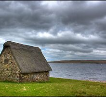 Grimwith Reservoir, Hebden, Yorkshire Dales. by Michael Upshon