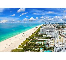 Postcard from South Beach, Miami, Florida Photographic Print