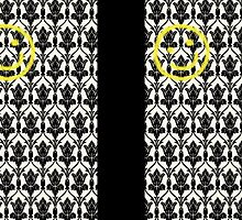 BBC Sherlock 'Bored Smiley Face'  by Mutotoru