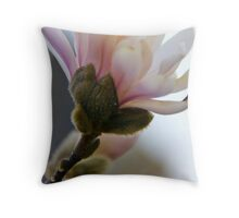 Flowering Blossoms Throw Pillow