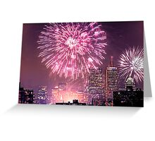 Boston, MA July 4th Pops Fireworks Spectacular! Greeting Card