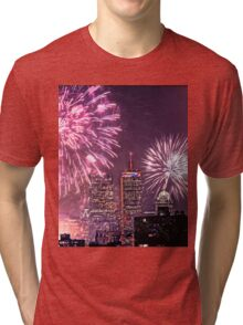 Boston, MA July 4th Pops Fireworks Spectacular! Tri-blend T-Shirt