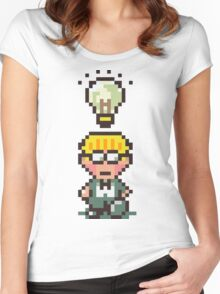 Jeff - Earthbound Women's Fitted Scoop T-Shirt