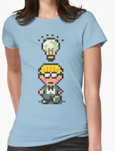 Jeff - Earthbound Womens Fitted T-Shirt
