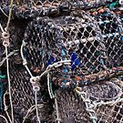 Lobster Pots in Padstow by SpencerCopping