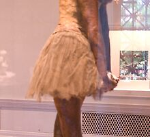 CHARL xx  Egdar Degas the 14 years old dancer... by tim norman