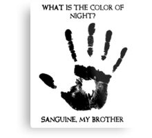 Sanguine My Brother Metal Print