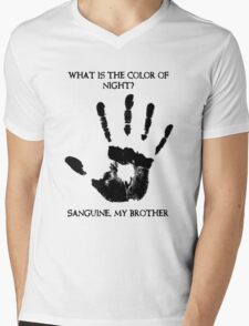 Sanguine My Brother Mens V-Neck T-Shirt