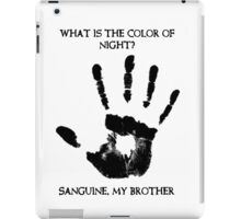 Sanguine My Brother iPad Case/Skin