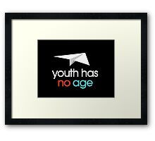 Youth has no age Framed Print