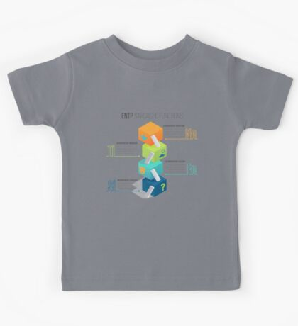ENTP Sarcastic Functions Kids Tee