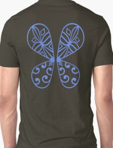 Fairy Wings - Blue Unisex T-Shirt