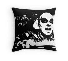 Nux, The War Pup Throw Pillow