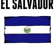 El Salvador Flag by GiftIdea
