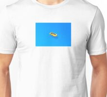 Yellow boat in Saint Tropez Bay, Southern France Unisex T-Shirt