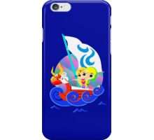Link and Zelda at Sea iPhone Case/Skin