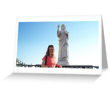 God bless you ! Greeting Card