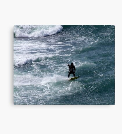 Ahead of the Wave Canvas Print