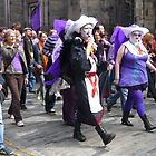Purple Protest March by Yonmei