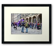 The Meeting of the Clans Framed Print
