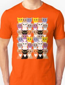 Only A Glaring Of Cats Unisex T-Shirt