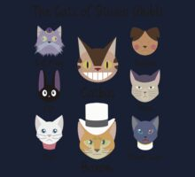 THE CATS OF STUDIO GHIBLI One Piece - Long Sleeve