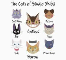 THE CATS OF STUDIO GHIBLI Kids Clothes