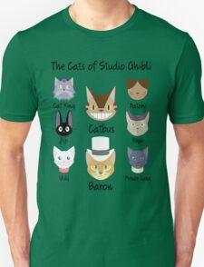 THE CATS OF STUDIO GHIBLI Unisex T-Shirt