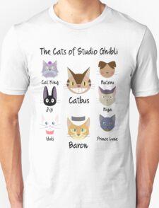 THE CATS OF STUDIO GHIBLI T-Shirt