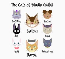 THE CATS OF STUDIO GHIBLI Unisex T-Shirt