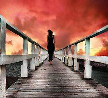 I Walk Away On Shadow Feet by Tara Lemana