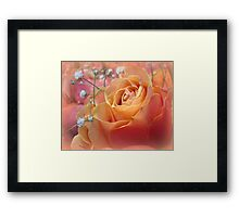 When I dream of you..... Framed Print
