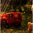 [ sprinkler fun ] by MelAncholyPhoto