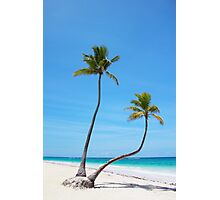 Bavaro Beach in Punta Cana, The Dominican Republic Photographic Print