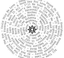 The Wanted with chasing the sun logo spiral by o-my-morgan