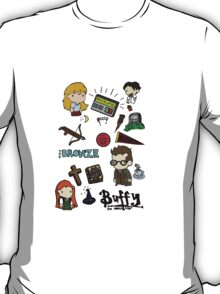 Buffy Collage T-Shirt