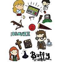 Buffy Collage by vaboredwoolf
